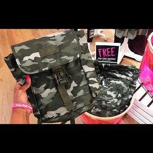 PINK Camo Mini Backpack